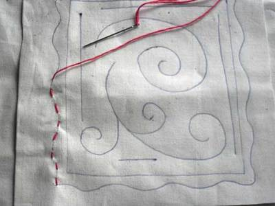 embroidery stitch,running stitch